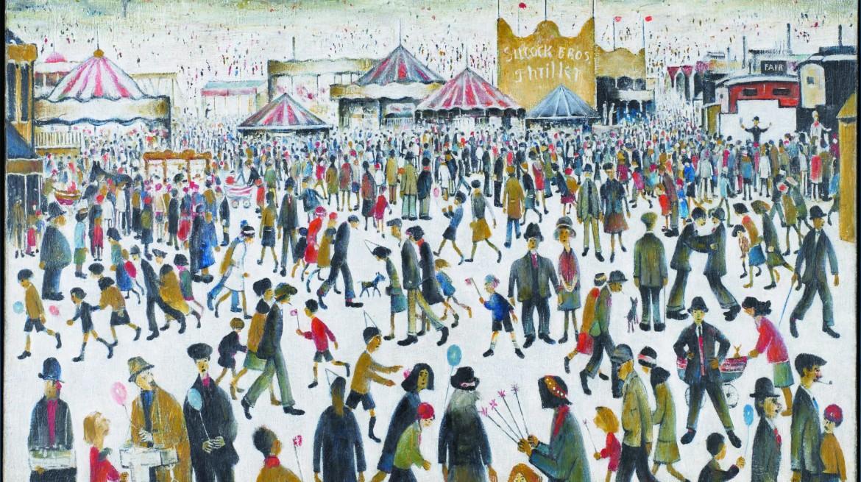 LS-Lowry-Lanchashire-Fair-1946