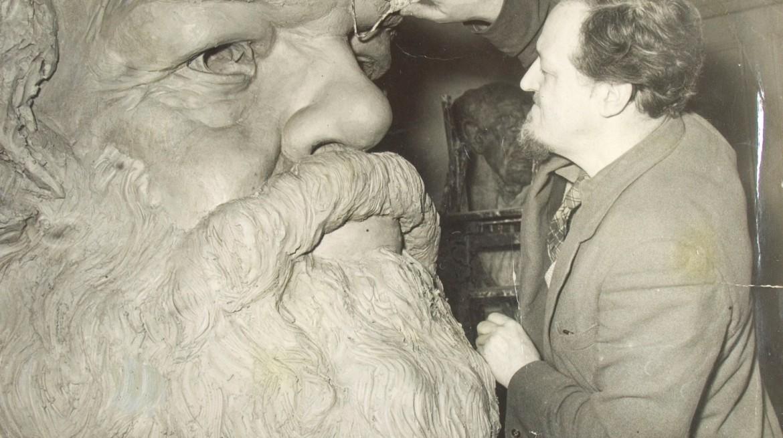 Lawrence-Bradshaw-Karl-Marx-1955