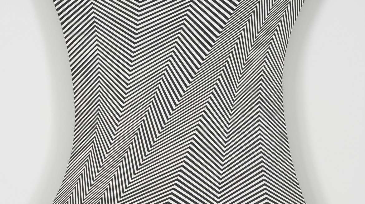 Bridget Riley Stretch 1964
