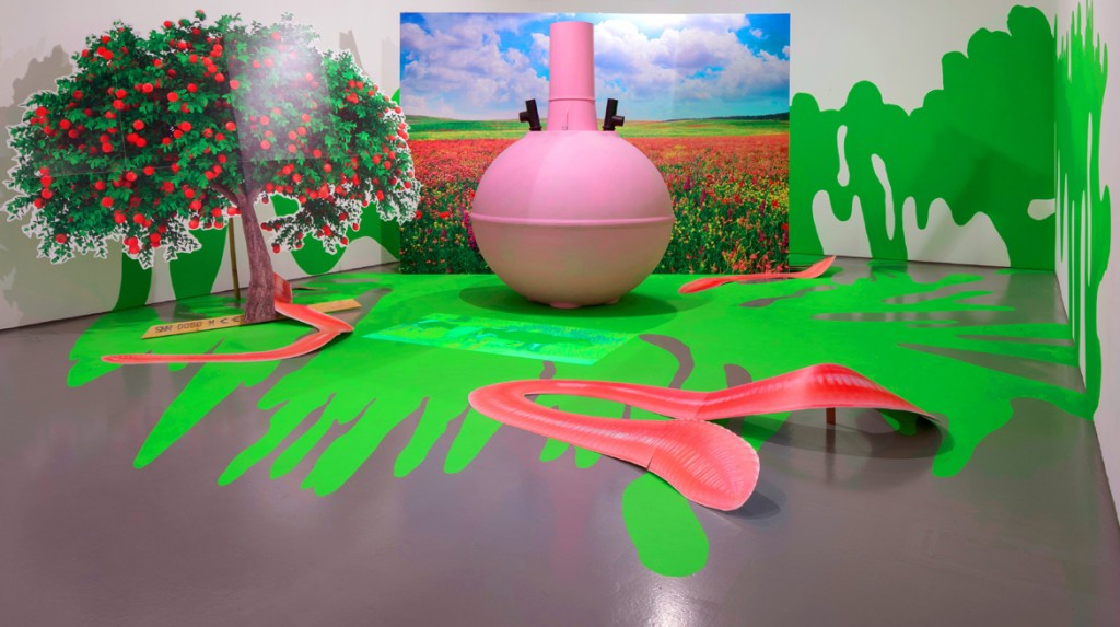sub-fusc love-feast, installation view at Dundee Contemporary Arts, 2014