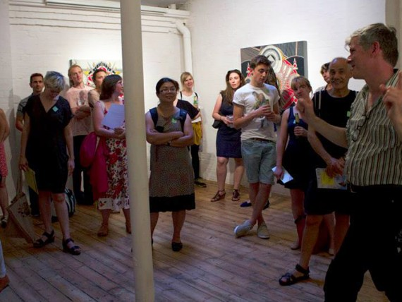 first thursdays galleries platform 39-interior