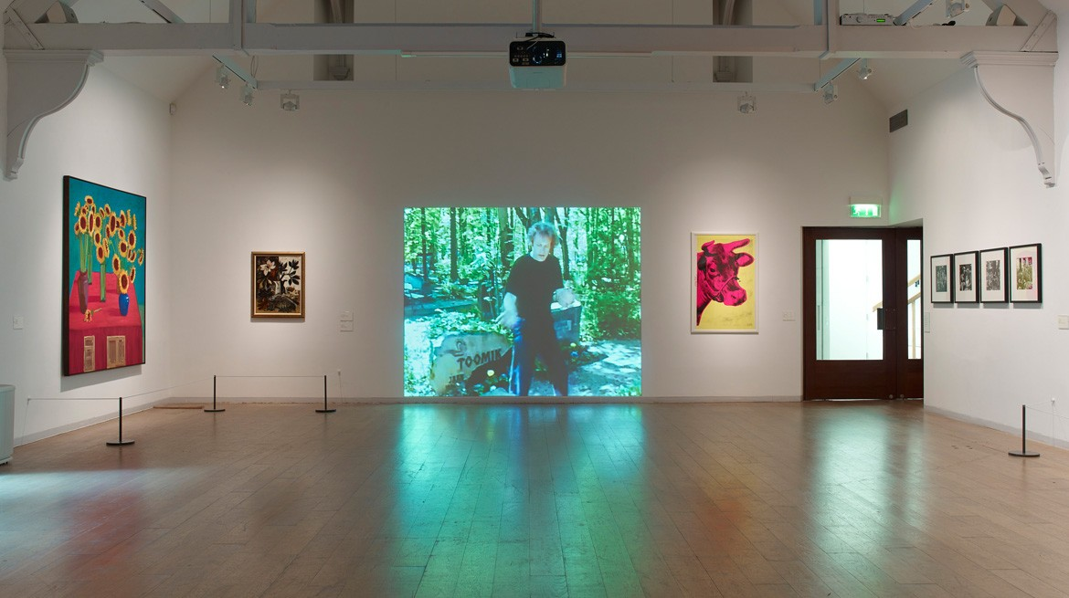 Website - Installation view, V-A-C collection selected by Lynette Yiadom-Boakye 2