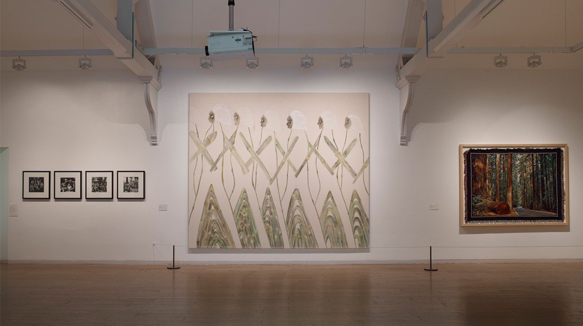 Website - Installation view, V-A-C collection selected by Lynette Yiadom-Boakye 3