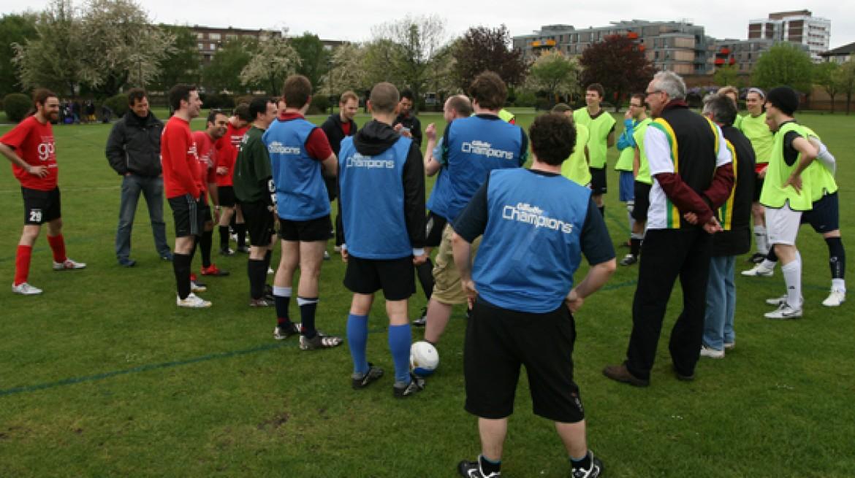 3-Sided Football Match