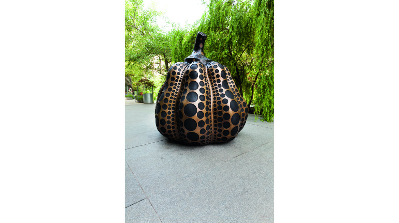 Yayoi Kusama, pumpkin for web