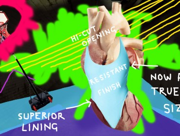 Heather Phillipson_nylon tricot hi-cut  one-piece_whitchapel image-low
