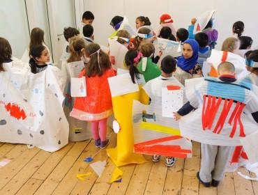 Whitechapel Gallery Schools Workshop25.3.15©Richard Eaton 07778 395888