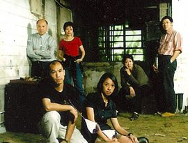 Founders of Para Site (From left to right) Patrick Lee, Leung Chi-wo, Phoebe Man Ching-ying, Sara Wong Chi-hang, Leung Mee-ping, Tsang Tak-ping