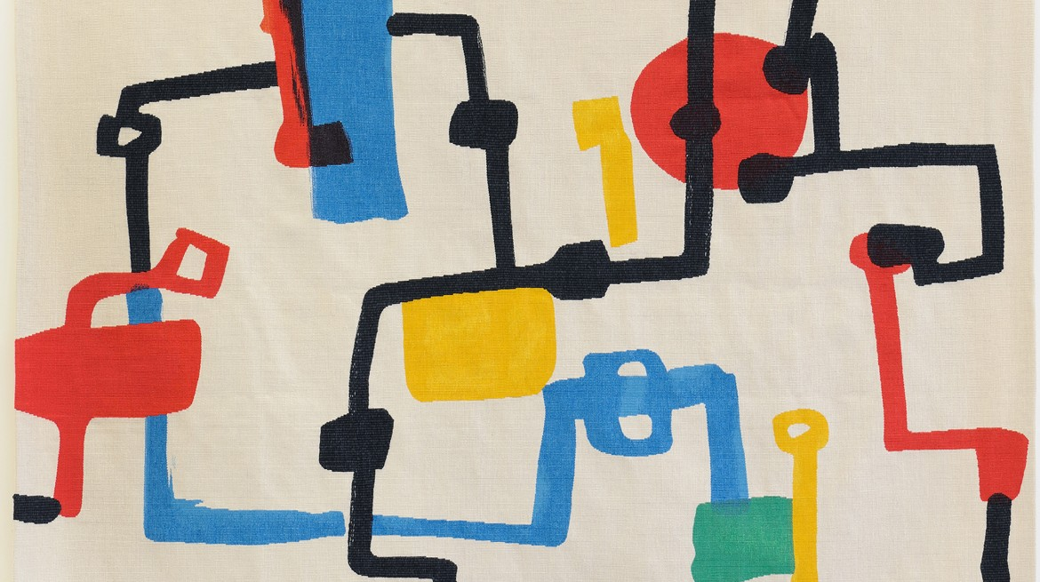 Etel Adnan, Champs de Petrol, 2013, wool 159 x 200 cm website