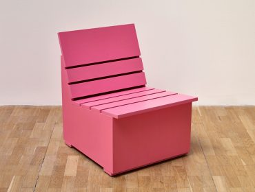 Mary Heilmann Chair, Pink - Whitechapel Gallery Limited Editions