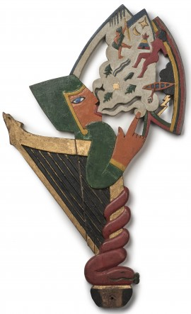 Image 7 - Kibbo Kift, Skald head