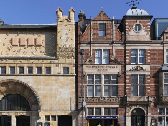The Whitechapel Gallery with Rachel Whiteread