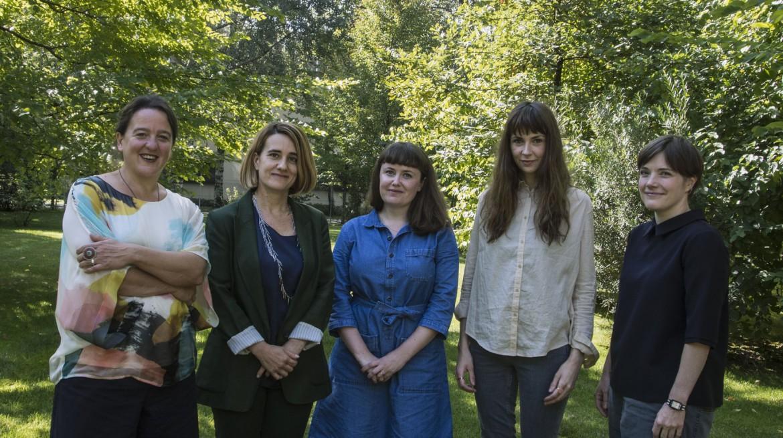 Tania Kovats, Ana Génoves, Ruth Ewan, Phoebe Unwin, Emma Hart Ph.C. Gabriele Micalizzi / Cesura Courtesy Collezione Maramotti