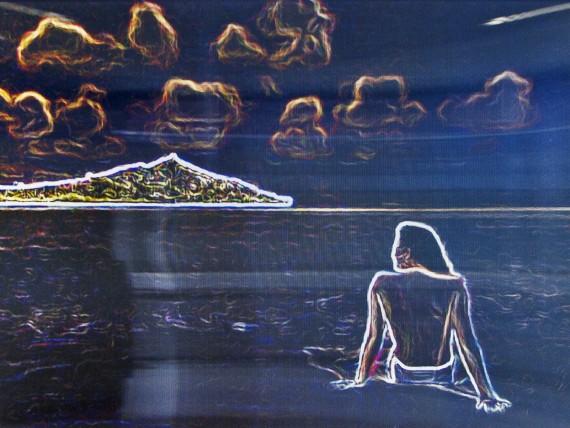 Constant Dullaart, Glowing Edges_7. 10, 2014