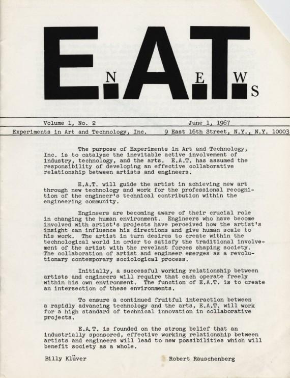 E.A.T. News – Vol. 1
