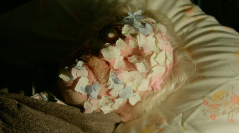 Film still taken from a work by Jennifer Walshe called