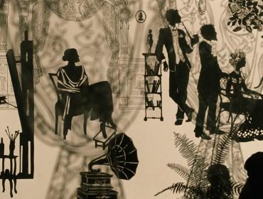 A scene from Andrey Khrzhanovsky's A ROOM AND A HALF.  Courtesy