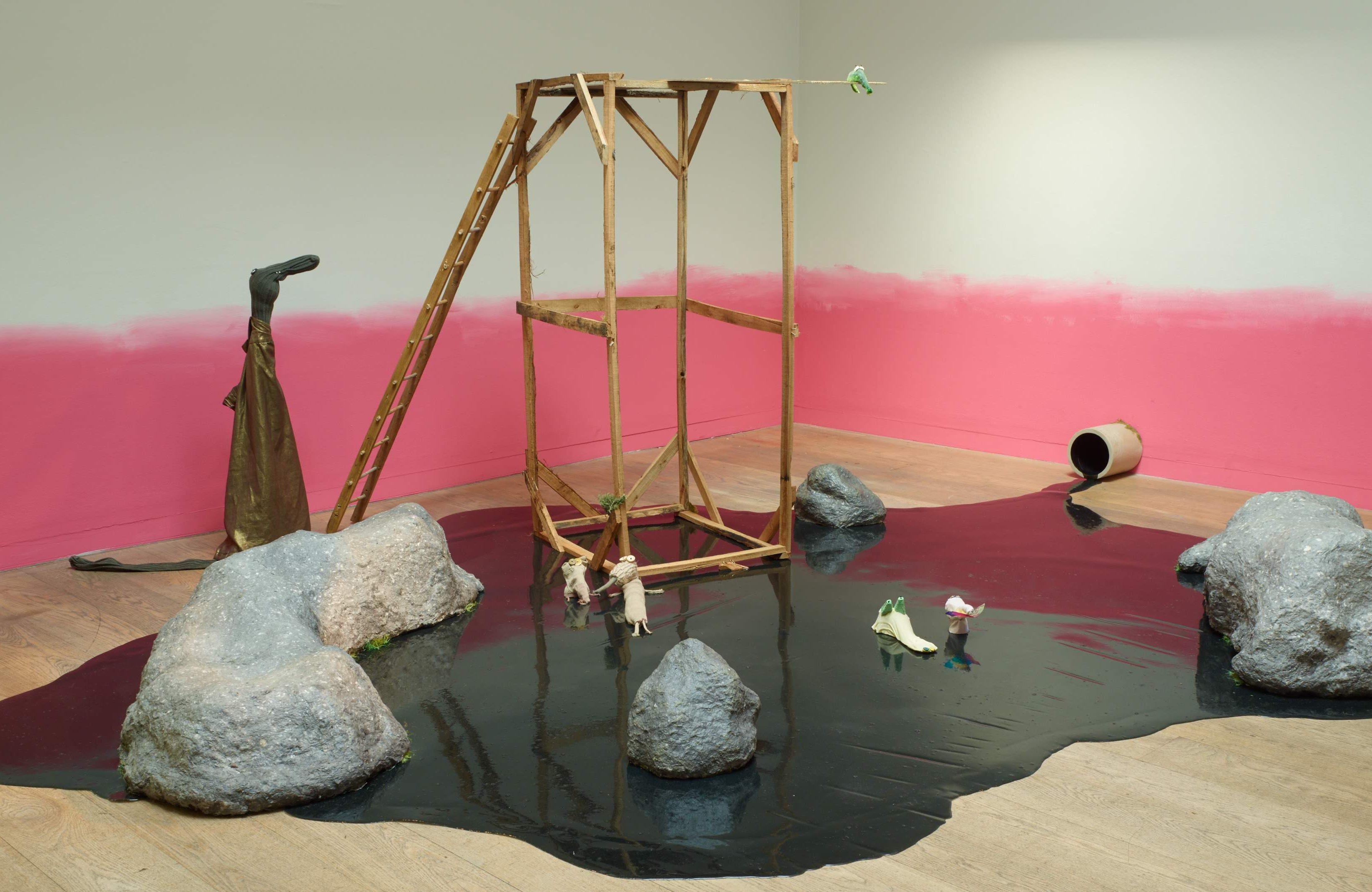 Whitechapel Gallery Children's Commission 2016 - Edwina Ashton: In the Winter Hours, installation view. Photo: Stephen White