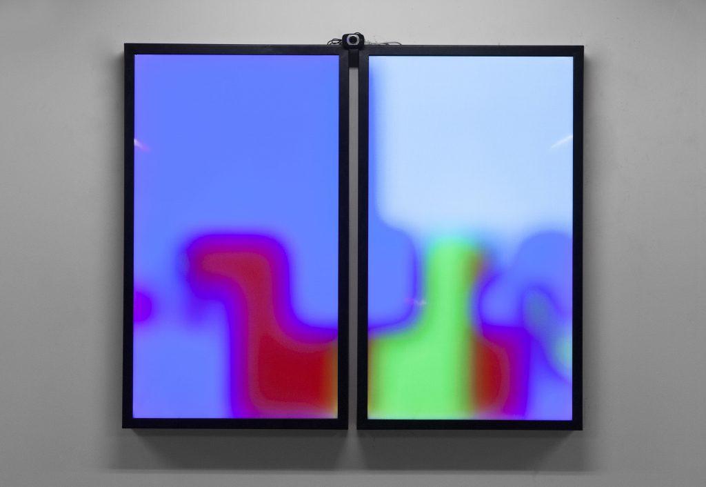Jonas Lund, VIP (Viewer Improved Painting (2014) Photo: (c) Chroma