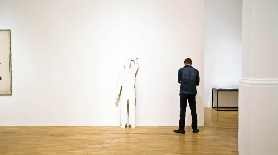Installation view, Giulio Paolini: To Be Or Not To Be, 2014
