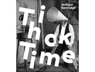 William Kentridge Thick Time - Whitechapel Gallery Exhibition Catalogue Cover