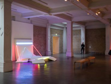 Keith Sonnier, Installation View at Whitechapel Gallery 2016