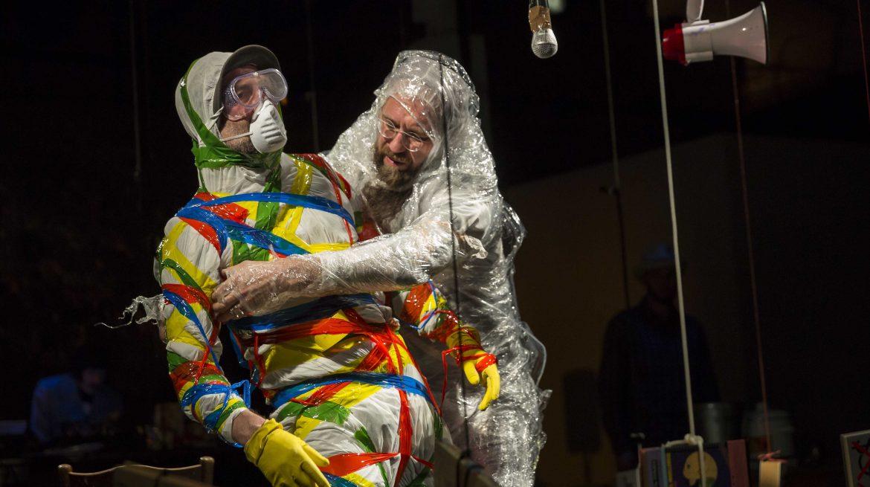 Image of Engineering Theatre AKHE performance Polychrome, 2014