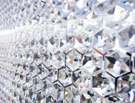 Whitechapel Gallery Art Icon with Swarovski - Crystal, Swarovski