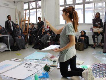 Phoebe Unwin and St Pauls Way Trust Secondary School Whitechapel Gallery Masterclass