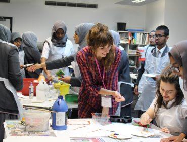 Phoebe Unwin and St Pauls Way Trust Secondary School Whitechapel Gallery Masterclass year 11