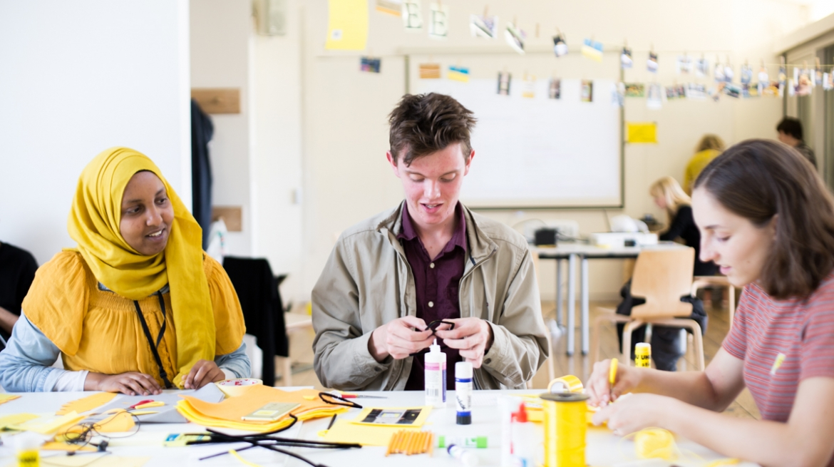 Image of workshop at Whitechapel Gallery