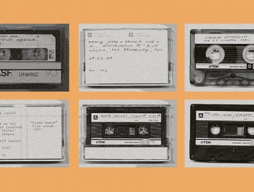 Q&A: Artists in Conversation. Marysia Lewandowska, The Women's Audio Archive, 1986. Courtesy the artist
