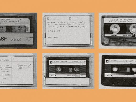 Q&A: Artists in Conversation. Marysia Lewandowska, The Women's Audio Archive, 1986. Courtesy the artist