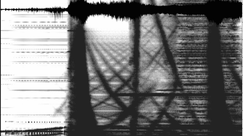 Spectogram Waveform, Aki, The Sound of Memory, Whitechapel Gallery