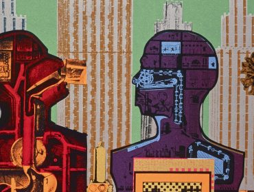 Eduardo Paolozzi, Wittgenstein in New York (from the series As is When), 1965, Courtesy  Scottish National Gallery of Modern Art: GMA 4366 K © Trustees of the Paolozzi Foundation, licensed by DACS