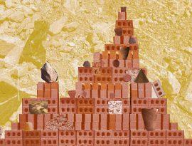 Whitechapel Gallery Children's Commission 2017: Assemble, Brick Collage