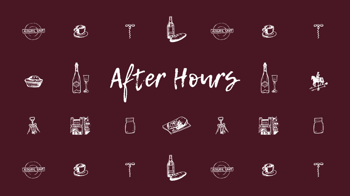 Eat and Drink at the Whitechapel Gallery. After Hours