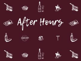 Third width – Eat and Drink at the Whitechapel Gallery. After Hours