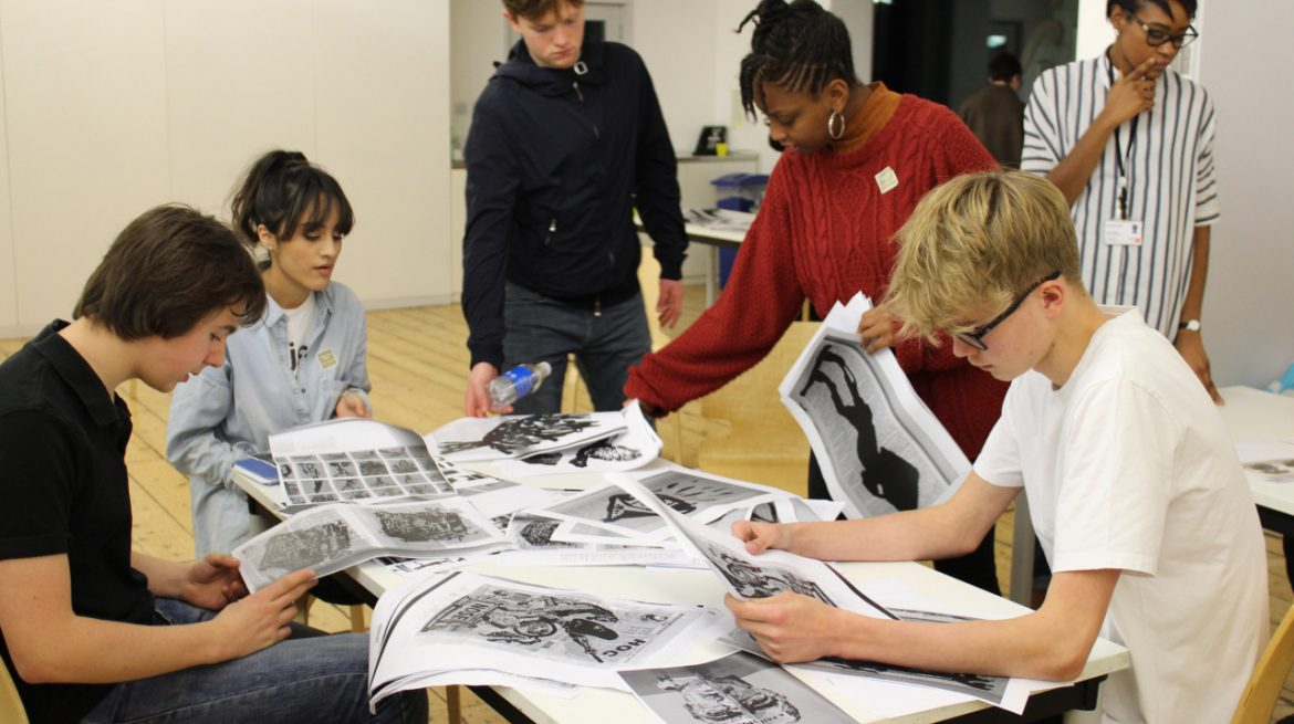 Diuchamp & Sons Whitechapel Gallery youth Forum Taster Evening  January 2017
