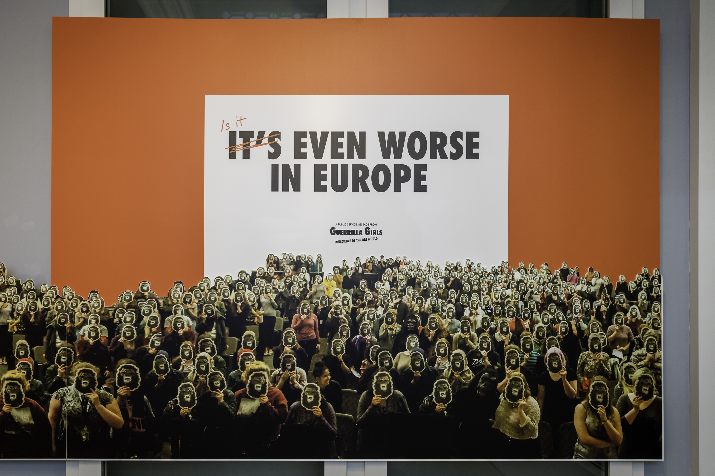 Guerrilla Girls Is it even worse in Europe. Dan Weill 1 (11)