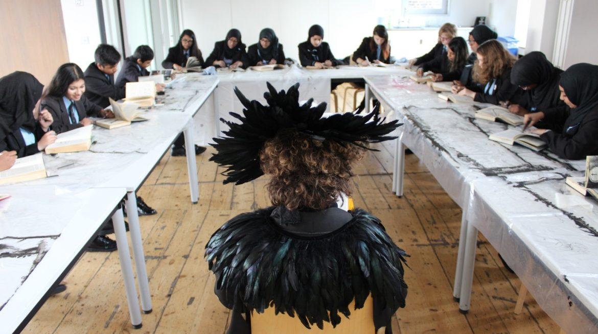 Whitechapel Gallery - Masterclass - Alice Shirley and Morpeth Secondary School
