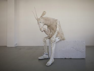 Pawel Althamer, Self-portrait as the Billy-Goat