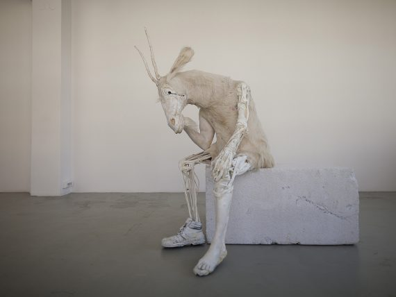Pawel Althamer, Self-portrait as the Billy-Goat