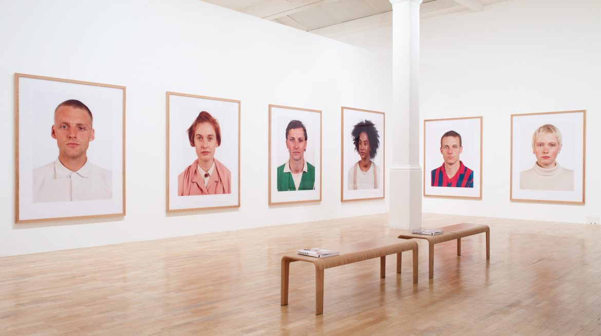 Installation view at the Whitechapel Gallery Thomas Ruff: Photographs 1979 – 2017  Gallery 1 27 September 2017 – 21 January 2018 Photo: Stephen White