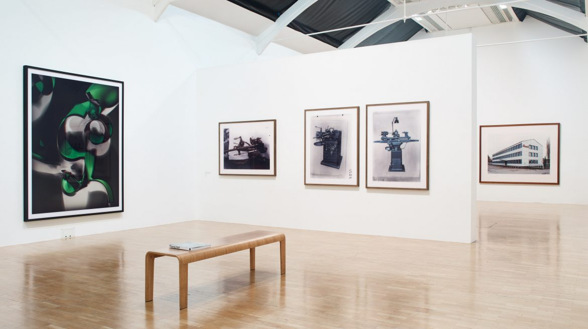 Installation view at the Whitechapel Gallery Thomas Ruff: Photographs 1979 – 2017  Gallery 8 27 September 2017 – 21 January 2018 Photo: Stephen White