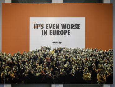 Guerrilla Girls Is it even worse in Europe. Dan Weill 1 (11)