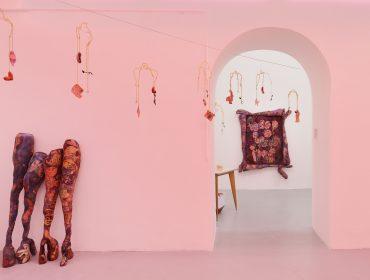 Max Mara Art Prize_Installation view, Belladonna's Muse at BASEMENT ROMA, Rome_Athena Papadopoulos