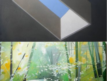 First Thursdays Exhibition Primitive Huts and Natural Landscape