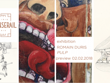 First Thursdays Exhibition Pulp by Romain Duris