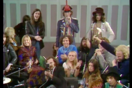 Yippies Invade Frost, The Frost Programme, ITV 1970